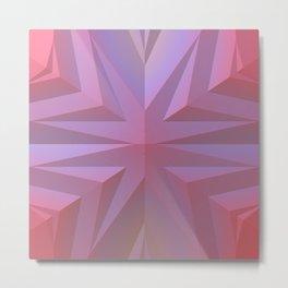Geometry Can Be Beautiful Metal Print