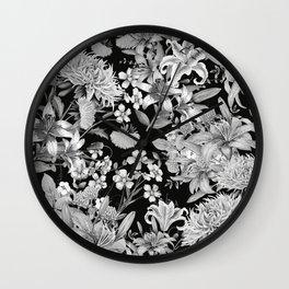 FLORAL GARDEN 5 Wall Clock