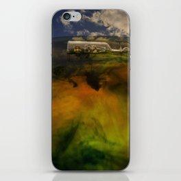 sailing on a dream iPhone Skin