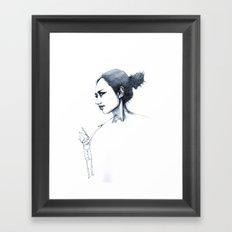 re;5 Framed Art Print