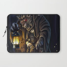 Through the night forest Laptop Sleeve