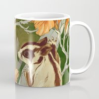 washington Mugs featuring Sugar Gliders by Teagan White