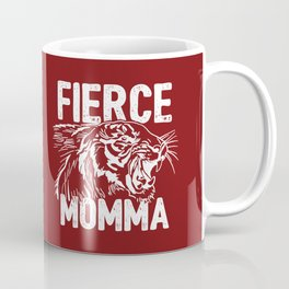 Fierce Momma / Red Coffee Mug