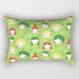 Funny Ladies Rectangular Pillow