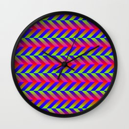 Zig Zag Folding Wall Clock