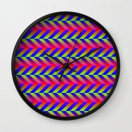 Zig Zag Folding Wall Clock