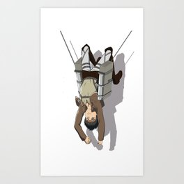 Attack on Titan -Shingeki no Kyojin Art Print