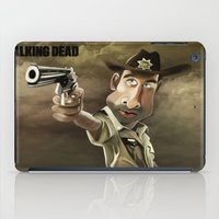rick grimes iPad Cases featuring The Walking Dead | Rick Grimes by AnkitS