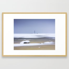 The Way to the Lighthouse Framed Art Print