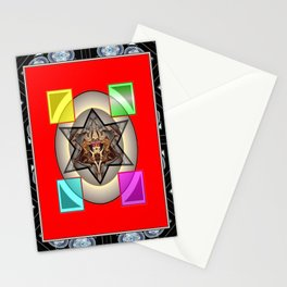 *Transcending Stars* Stationery Cards