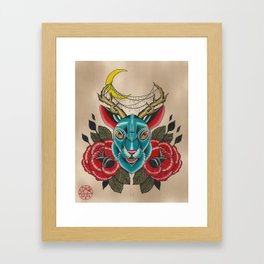 Jacked Framed Art Print