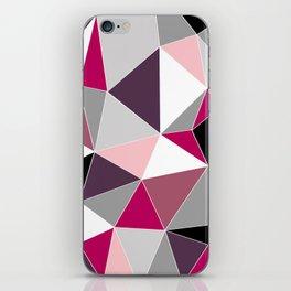 Pink Geometry iPhone Skin