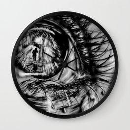 Divergent Eye Wall Clock