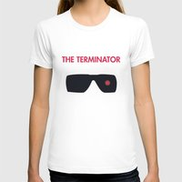 terminator T-shirts featuring The Terminator by NotThatMikeMyers