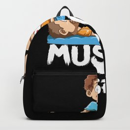 Funny Physio Muscle Whisperer Cartoon Backpack
