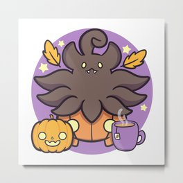 Autumn Pumpkaboo Metal Print
