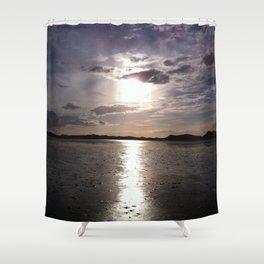 Sunset at Strandhill, Co.Sligo, Ireland Shower Curtain