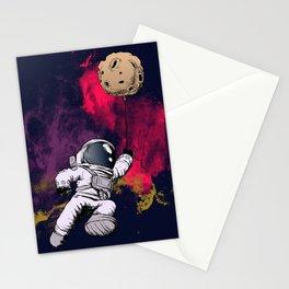minimalist Astronaut Stationery Cards