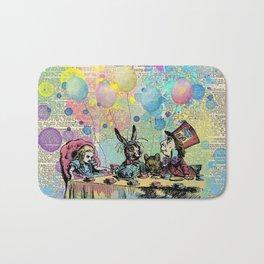 Tea Party Celebration - Alice In Wonderland Bath Mat