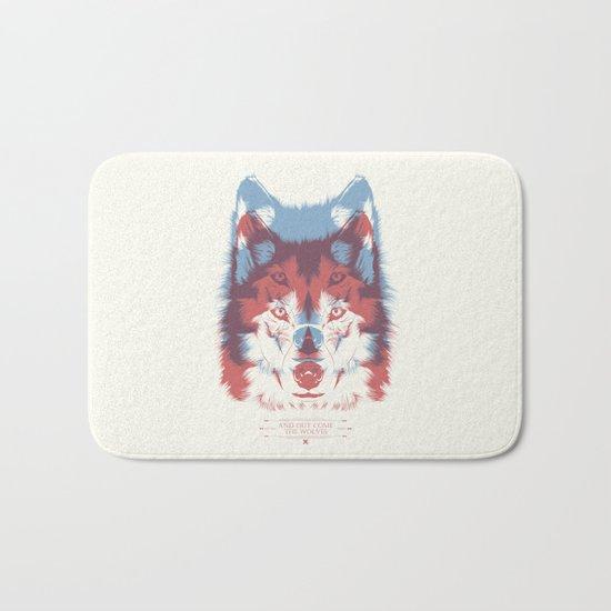 WOLF 3D Bath Mat