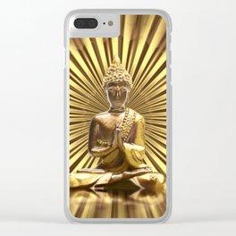 Buddha 2 Clear iPhone Case