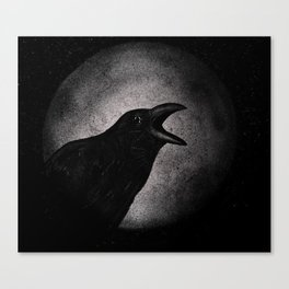 """Crow."" Canvas Print"