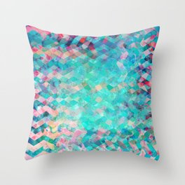 Chevron Remix Throw Pillow