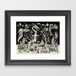 Out of the Thicket Framed Art Print