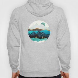 Teal Afternoon Hoody