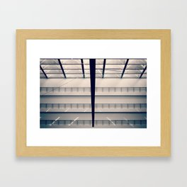 Berlin - Parliament on Vacation Framed Art Print
