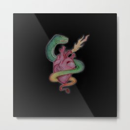 Constricted Love Metal Print