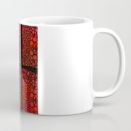 AH - Red Stone Rock'd Art by Sharon Cummings Coffee Mug