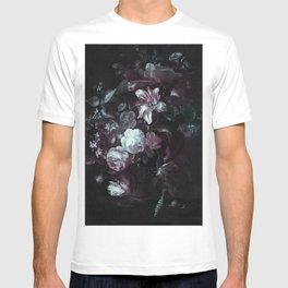 Flowers in a Vase - violet T-shirt