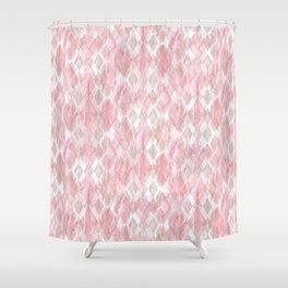Harlequin Marble Mix Blush Shower Curtain