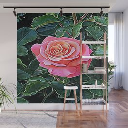 Trembling Flower of Enchantment Wall Mural