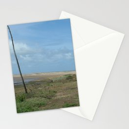 Near beach of Phare de la Coubre at te Atlantic Ocean Stationery Cards