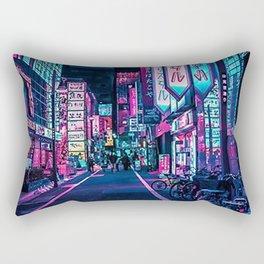 Tokyo - A Neon Wonderland Rectangular Pillow