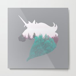 Dreamland Unicorn Metal Print