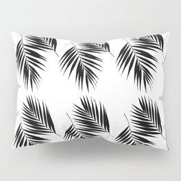 Palm Leaves Pattern #12 #Black #White #decor #art #society6 Pillow Sham