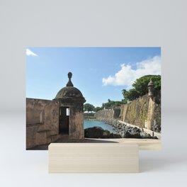 San Juan,fortress Mini Art Print
