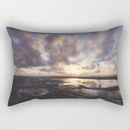 Sunrise Over the Beach 2 Rectangular Pillow
