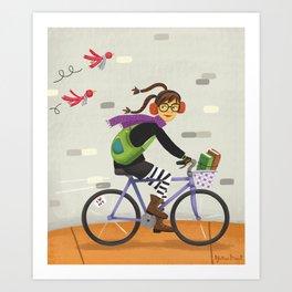 Hello from Brooklyn Art Print