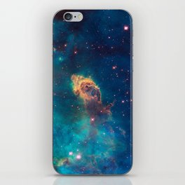Space Nebula, A View of Astronomy, Stars, Galaxy, and Outer space  iPhone Skin
