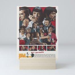 Quentin Tarantino's Pulp Fiction Fan Poster Mini Art Print
