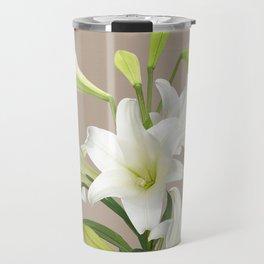 Easter Lily Travel Mug