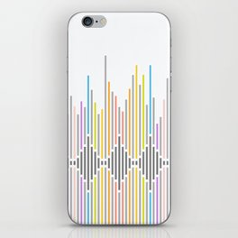 Dynamic Stripes 3 iPhone Skin