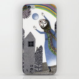 Rainbow Mine (2) iPhone Skin