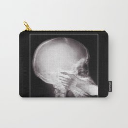 Foot In Mouth X-Ray Carry-All Pouch
