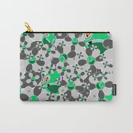 HW Flower inverse  Carry-All Pouch