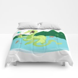 Year of the Loch Ness Monster Comforters